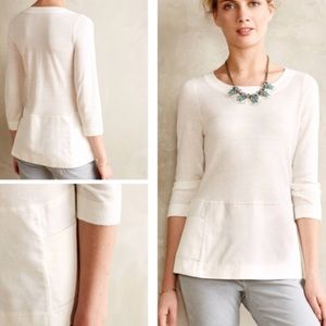 Anthropologie Moth Breeze Point Sweater Size S